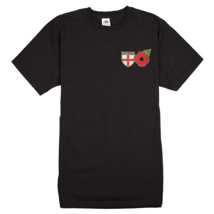"Poppy T-shirt ""England Shield""      ."
